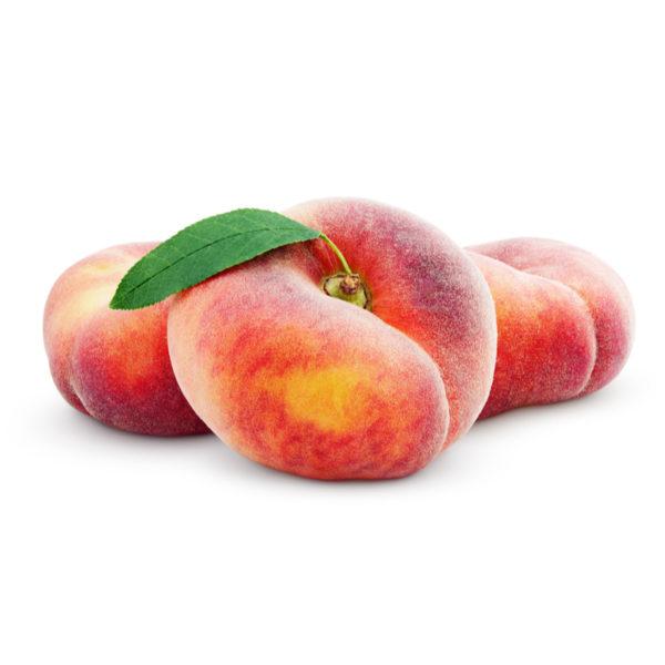 Peach doughnut